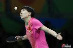 [高清组图]乒乓球女团1/4决赛中国3:0胜朝鲜