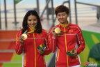 [高清组图]场地自行车女子团体竞速赛中国夺冠