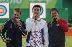 [高清组图]射箭男子个人决赛:韩国古柏汉夺金