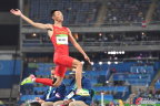 [高清组图]奥运男子跳远决赛 王嘉男获第五