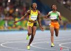 [高清组图]田径女子100米决赛:牙买加选手夺金