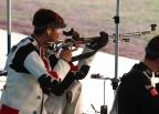 [高清组图]50米步枪三姿朱启南进决赛埃蒙斯出局