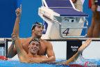 [高清组图]男子1500米自由泳决赛 意大利夺冠