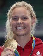 [高清组图]女子50米自由泳决赛 丹麦选手摘金