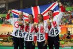 [高清组图]场地自行车女子团体追逐赛:英国夺冠