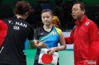 [高清组图]乒乓女团半决赛-德国胜日本进决赛