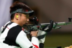 [高清组图]50米步枪三姿朱启南第6 意大利夺冠