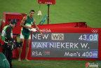 [高清组图]男子400米 范尼科尔克破纪录夺金