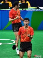 [高清组图]乒乓球男团半决赛:中国3:0胜韩国
