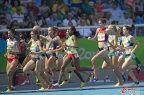 [高清组图]女子3000米障碍巴林小将杰比特摘金