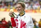 [高清组图]场地自行车女子全能赛 英国名将夺冠