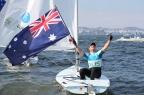 [高清组图]男子单人艇激光级 澳大利亚选手夺金