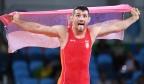 [高清组图]男子古典式摔跤66kg级 塞尔维亚夺金