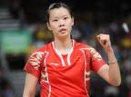 [高清组图]李雪芮胜泰国选手晋级羽毛球女单四强