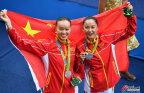 [高清组图]花游中国组合摘银 俄罗斯卫冕金牌