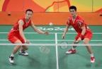 [高清组图]羽毛球男双-傅海峰/张楠胜英组合晋级