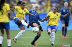 [高清组图]巴西女足点球大战负瑞典 无缘破魔咒