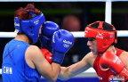 [高清组图]尹军花晋级拳击女子60公斤级决赛