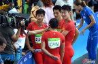 [高清组图]男子4X100米接力 中国破亚洲纪录晋级