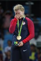 [高清组图]摔跤女子自由式53公斤级 美国夺金