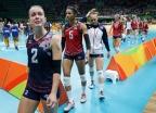 [高清组图]塞尔维亚女排3-2进决赛 美国无缘争冠