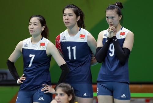 [高清优游品牌国际图]优游品牌国际国女排3-1胜荷兰 升级奥运决赛