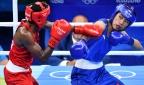 [高清组图]女子拳击任灿灿摘铜 英国名将进决赛