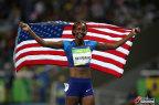 [高清组图]女子400米兰 穆罕默德轻松夺金