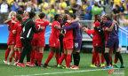 [高清组图]加拿大2-1胜巴西摘铜 辛克莱尔破门
