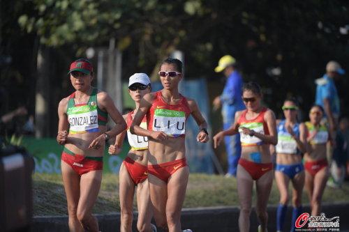 [高清优游品牌国际图]第22金!男人20千米赛跑刘虹夺魁