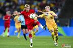 [高清组图]对手送乌龙 德国2-1瑞典首夺金牌
