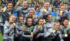[高清组图]奥运女足决赛:德国队2-1瑞典队夺冠