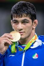 [高清组图]男子自由式摔跤74公斤级 伊朗夺冠