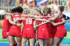 [高清组图]英国夺得里约奥运会女子曲棍球冠军