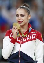 [高清组图]艺术体操个人全能:俄罗斯马蒙夺冠