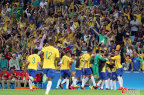 [高清组图]男足-内马尔点球助巴西足球夺冠