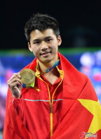 [高清组图]跳水男子十米台陈艾森夺冠 邱波第六