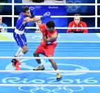 [高清组图]拳击男子56公斤级 古巴选手卫冕金牌