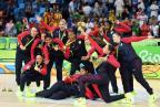 [高清组图]美国女篮轻取西班牙夺金 实现六连冠