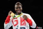 [高清组图]拳击女子51公斤级 英国选手获得金牌
