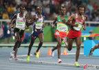 [高清组图]男子5000米-英国选手法拉赫夺金卫冕