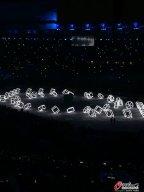 [高清组图]里约奥运会闭幕式 日本八分钟表演