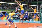 [高清组图]巴西男排3-0胜意大利 历史第三次夺冠