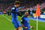 [高清组图]博格巴追平飞翼传射 法国2-1逆转瑞典