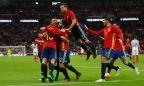 [高清组图]终场前连丢2球 英格兰2-2战平西班牙