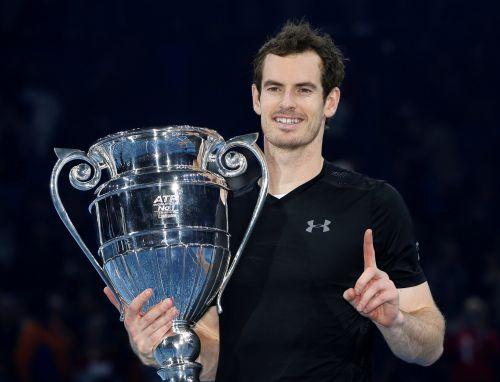 ATP总决赛-穆雷横扫小德首度夺冠 锁定年终第