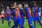 [高清组图]国王杯-MSN进球梅西绝杀 巴萨总分4-3