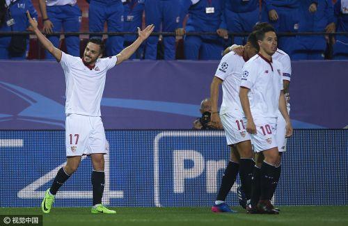 欧冠-瓦尔迪破球荒 莱斯特城1-2客负塞维利亚