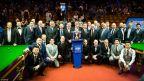 [高清组图]斯诺克世锦赛开幕式:各国名手齐聚