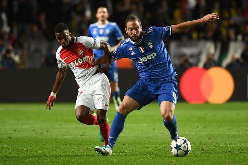 欧冠-阿尔维斯助伊瓜因2球 尤文2-0客胜摩纳哥
